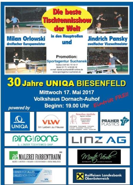Oöttv 30 Jahre Uniqa Biesenfeld